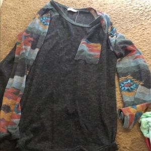 Tops - 2 long sleeve tees size large